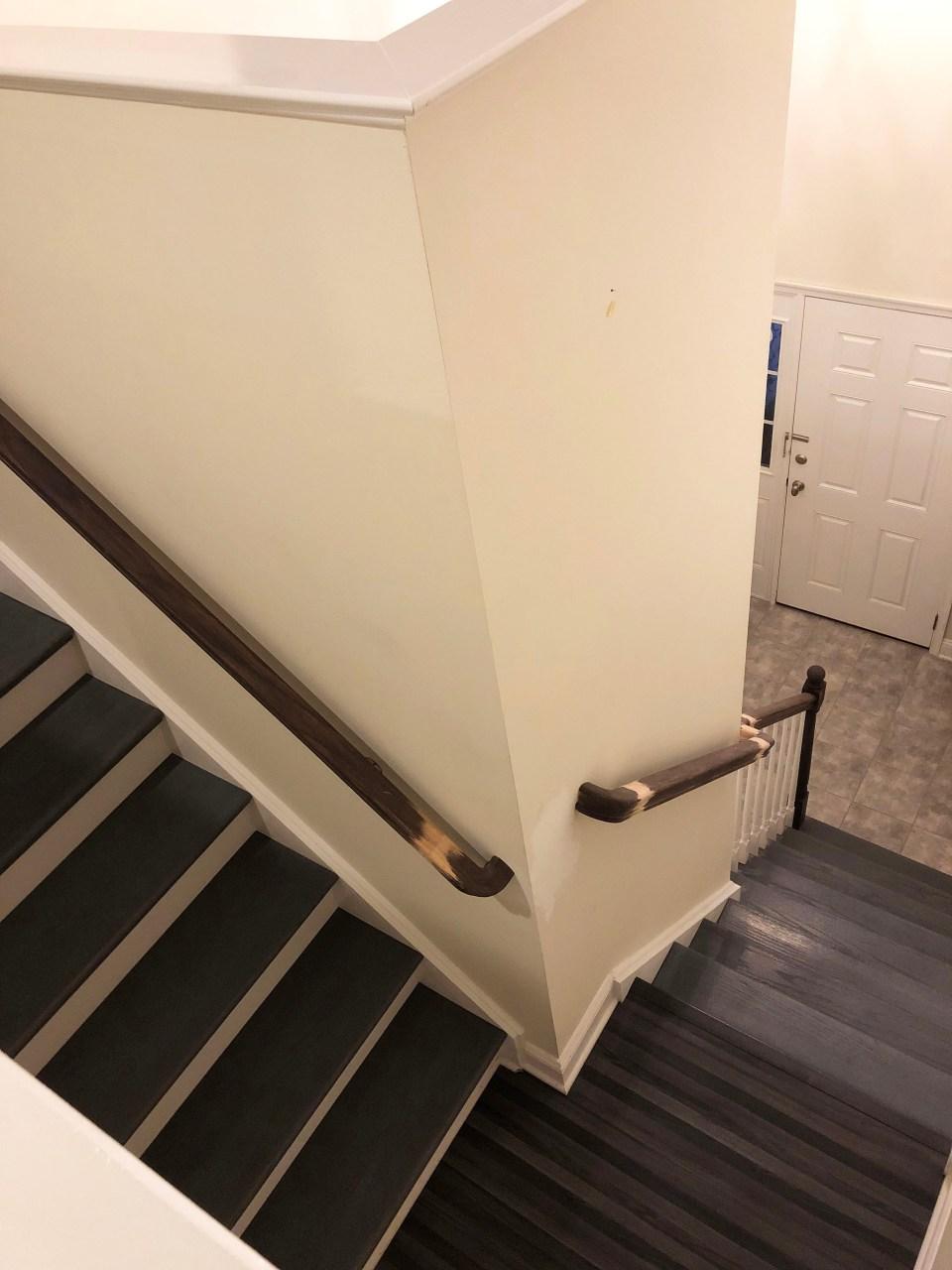 Foyer - Stairs Update 20