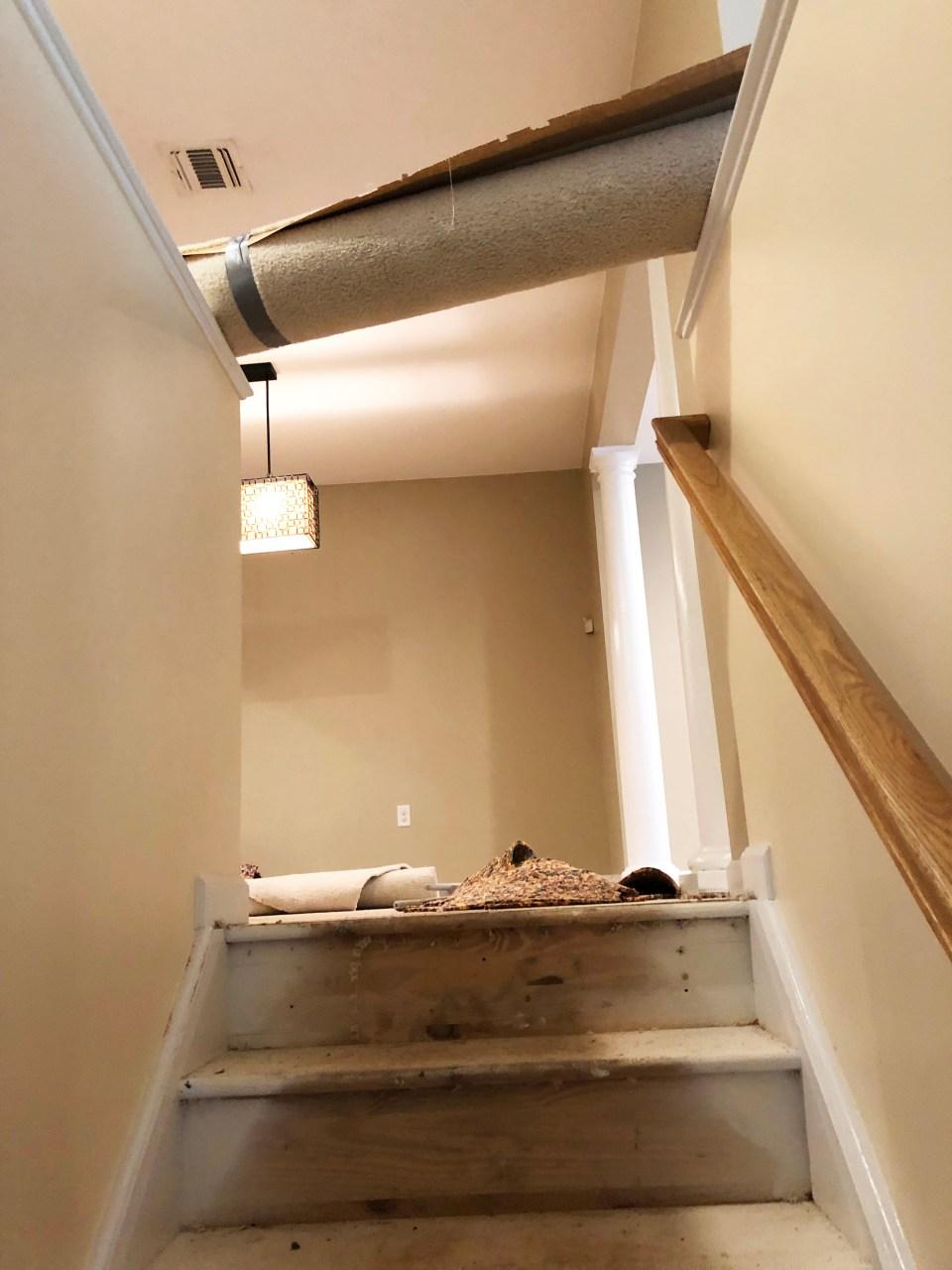 Foyer - Stairs Update 4