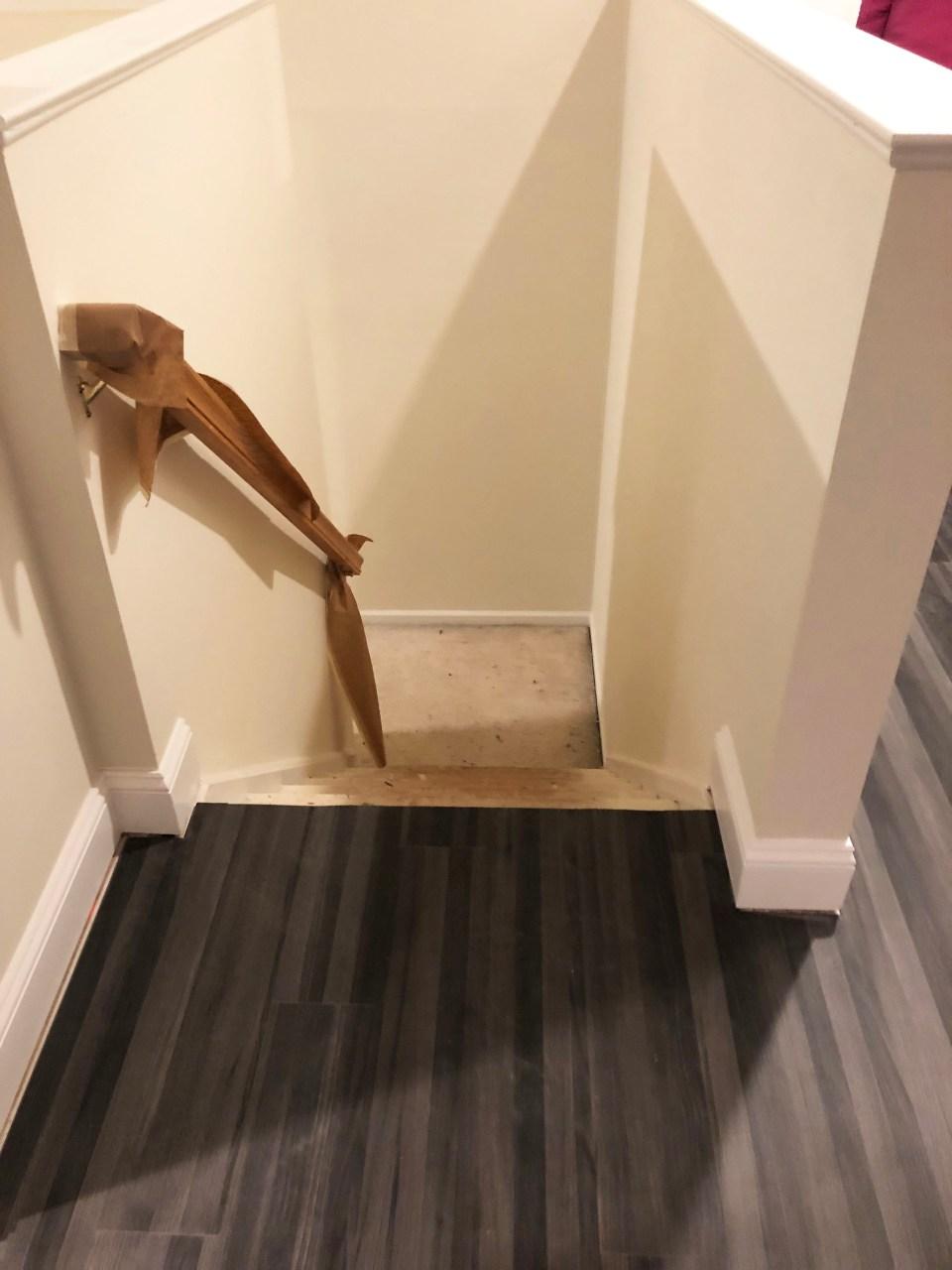 Foyer - Stairs Update 8