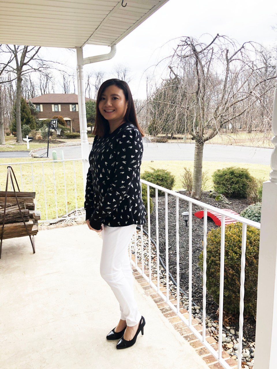 Heart Peplum Sweater 3