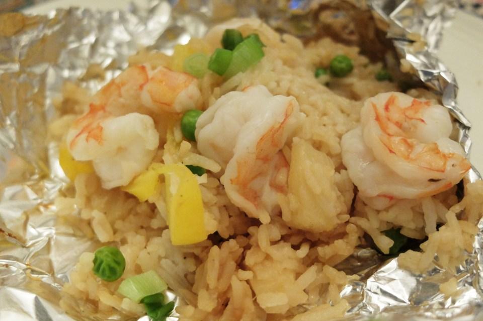 Teriyaki Shrimp & Pineapple Parcel 13