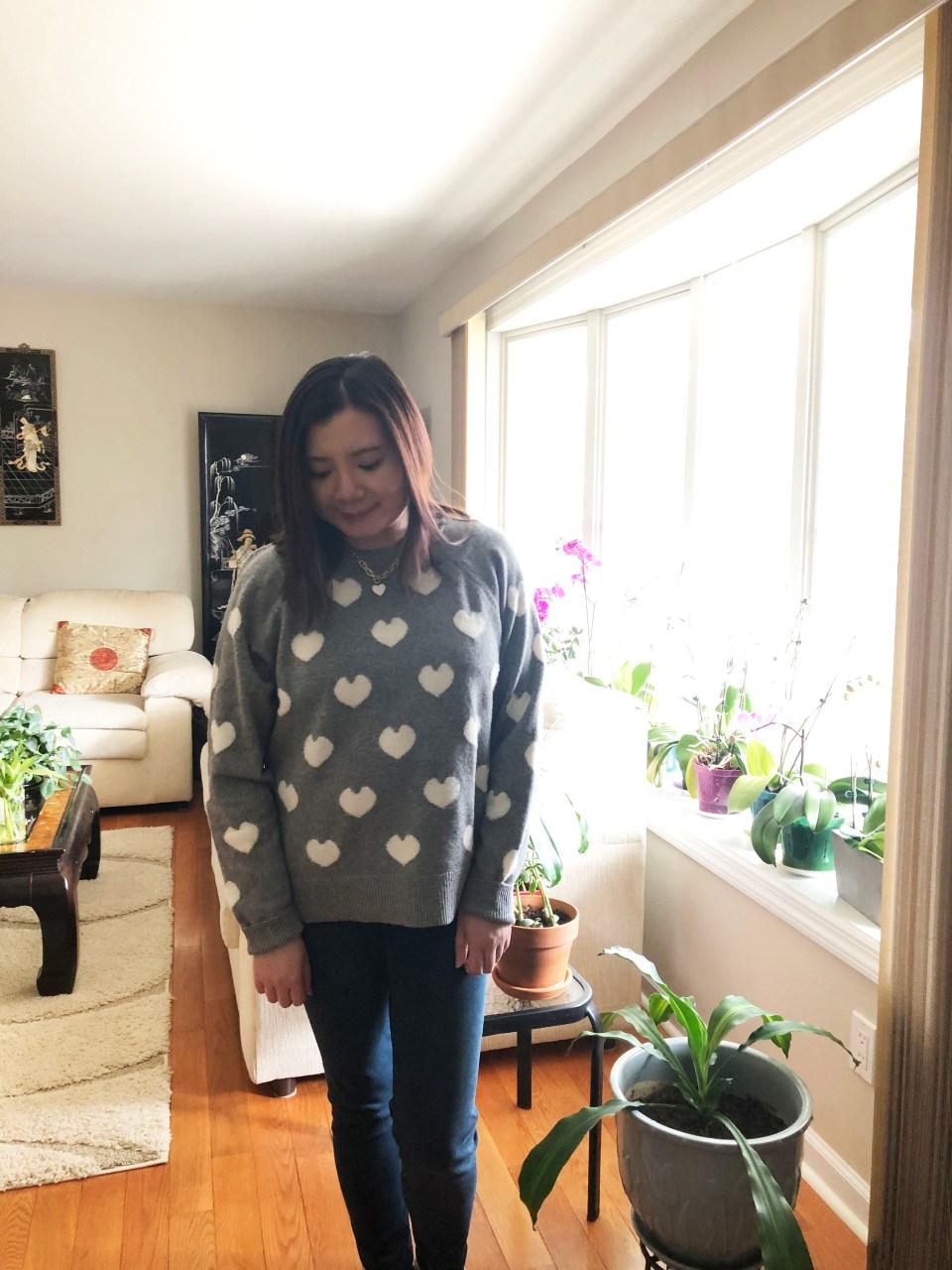 White Heart Sweater 11