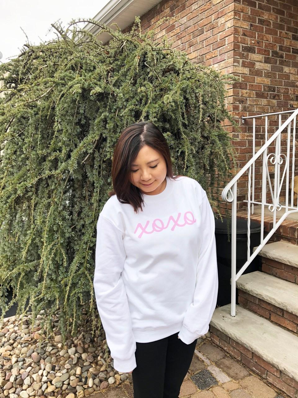 xoxo sweatshirt 1