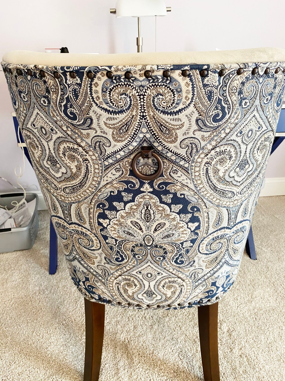 Dolce Blue Dining Chair 2