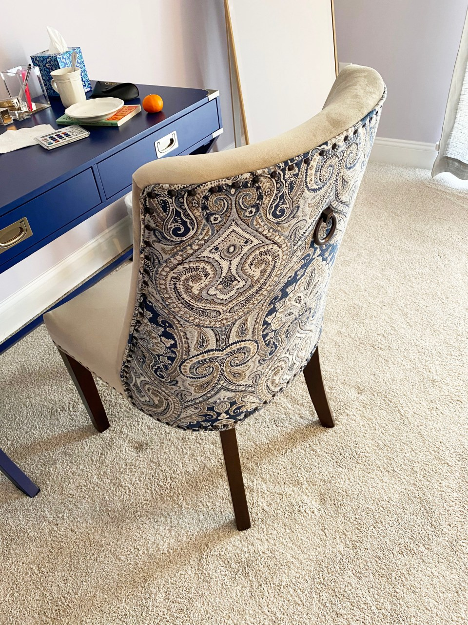 Dolce Blue Dining Chair