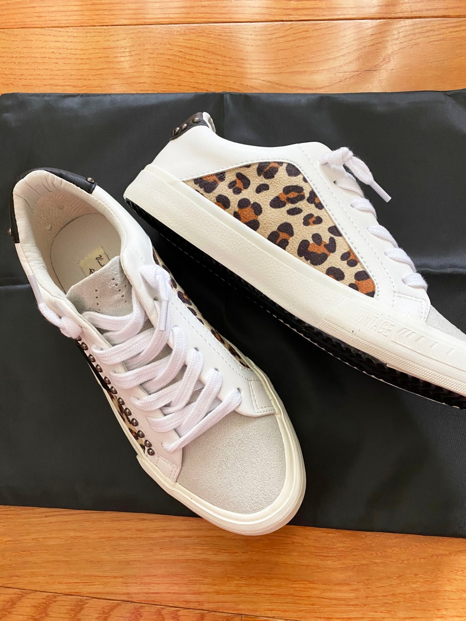 Leopard Studded Sneakers 2