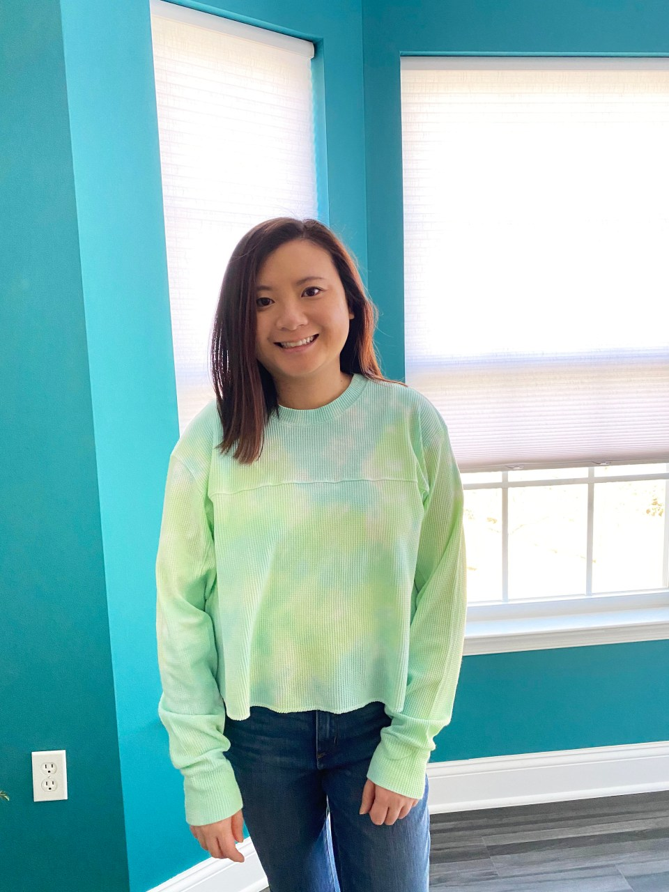 Tie Dye Thermal Top 14