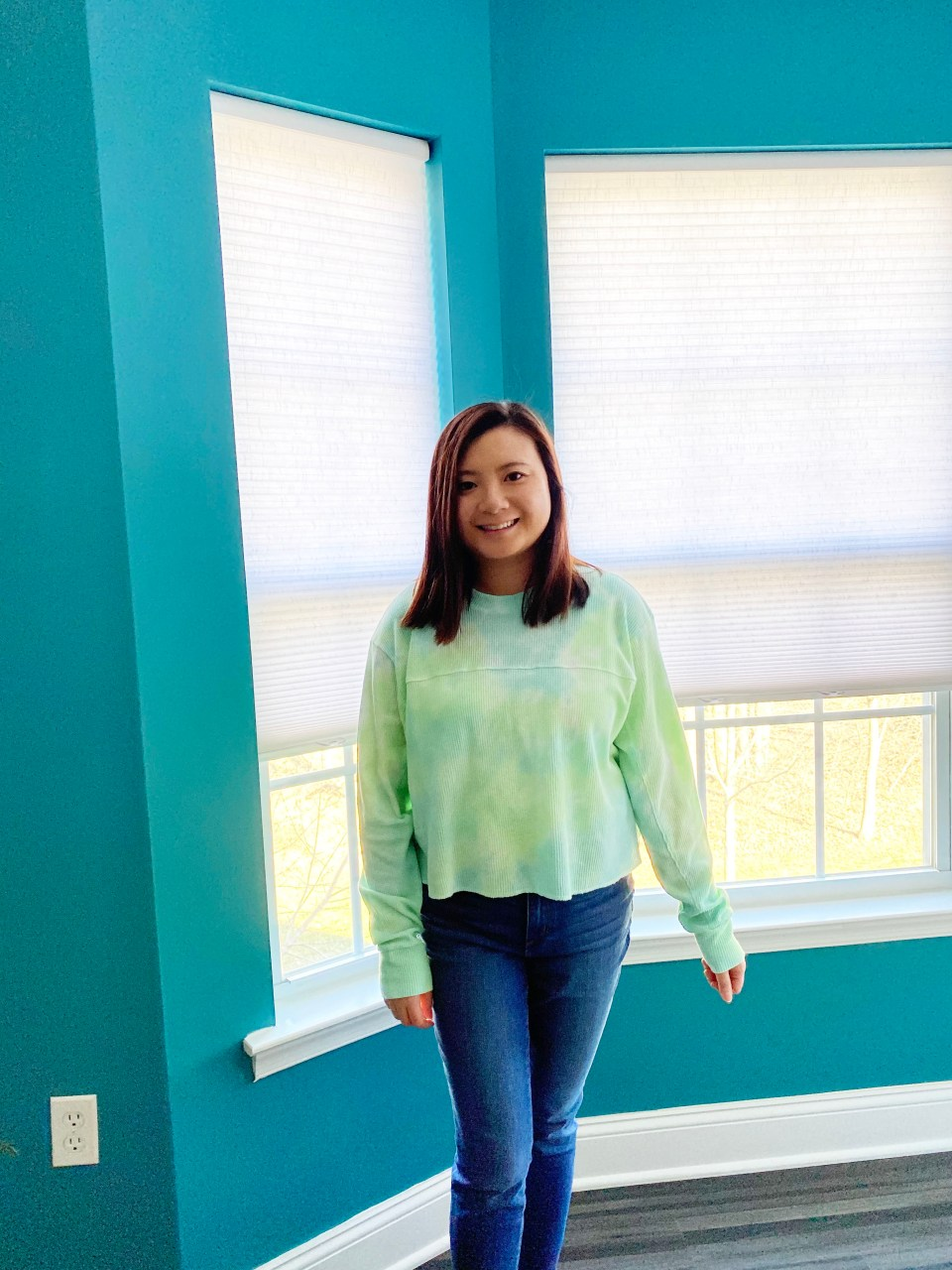 Tie Dye Thermal Top 7