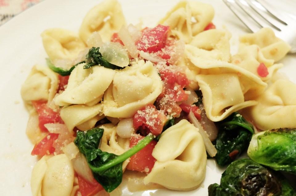 Tortellini w Spinach & Tomato 17