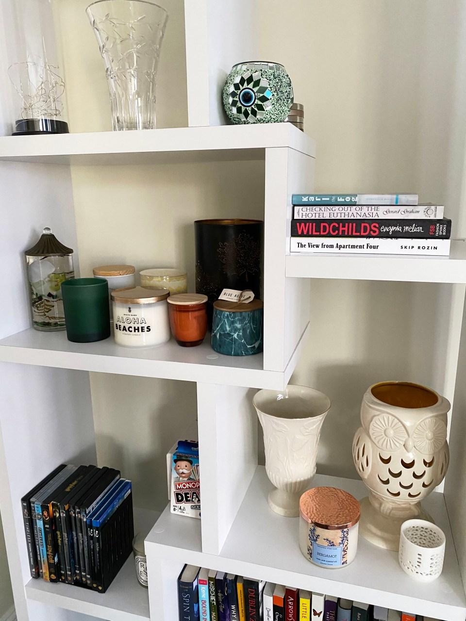 White Bookcase 2