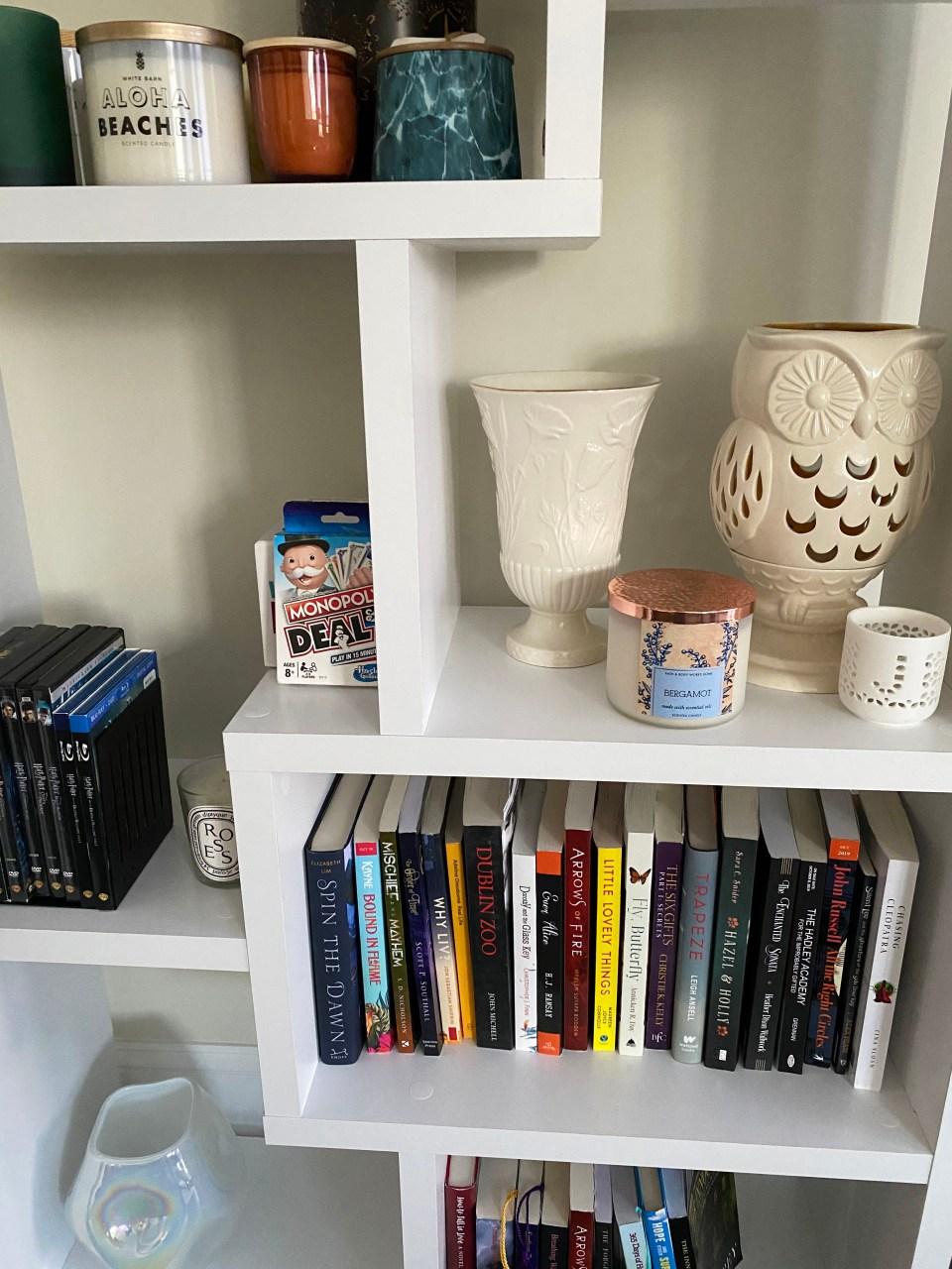 White Bookcase 3