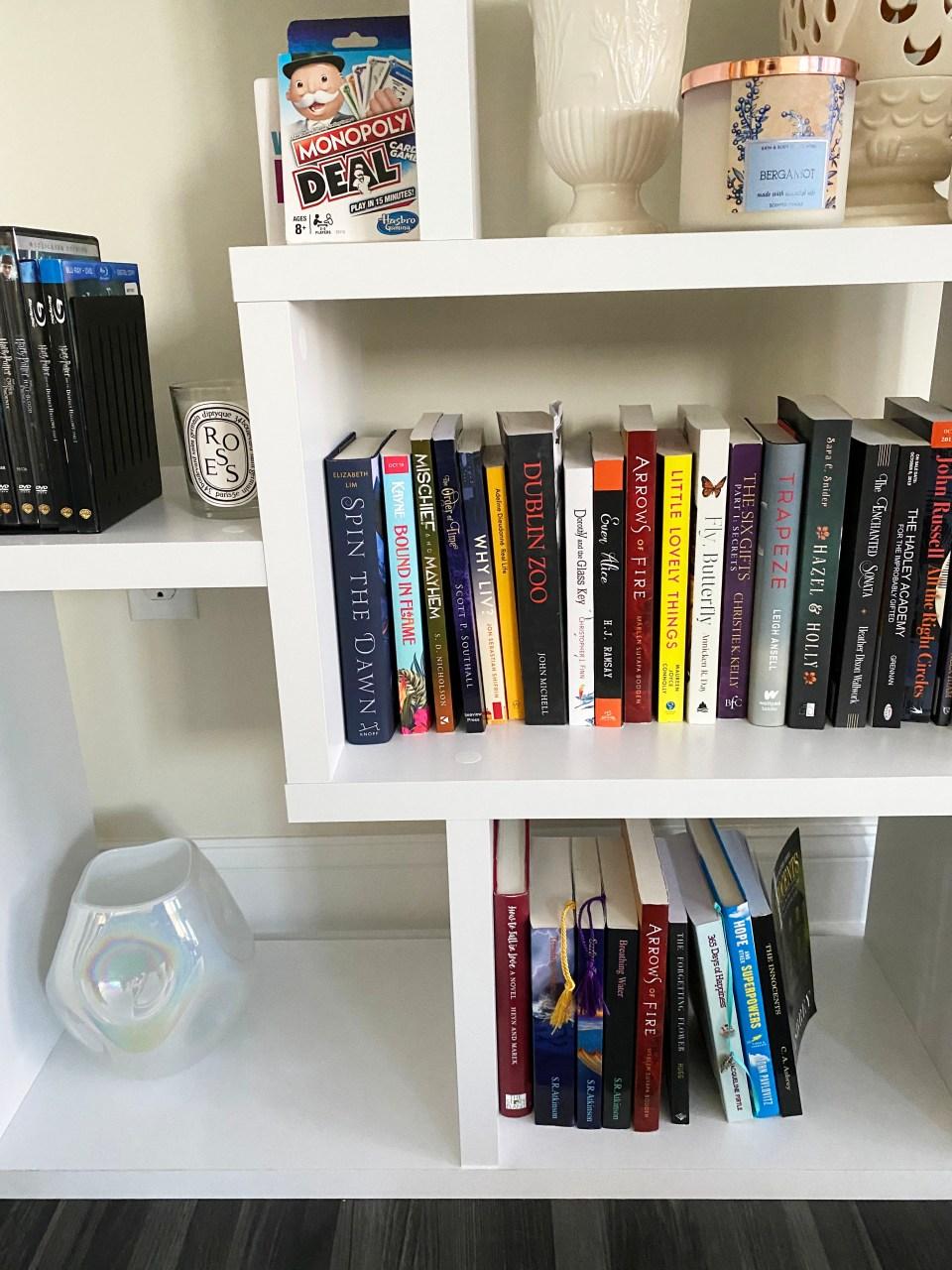 White Bookcase 4