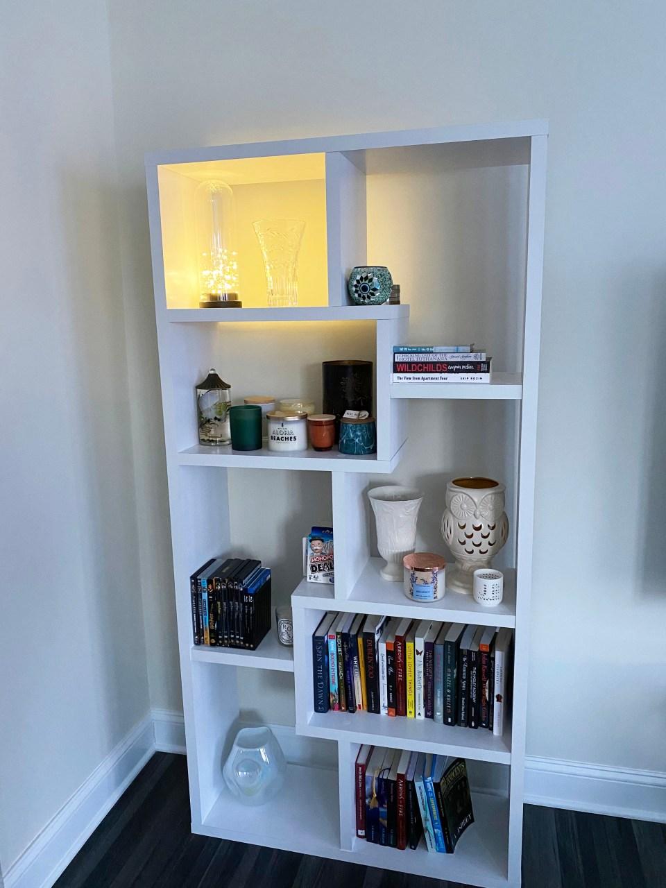 White Bookcase 7