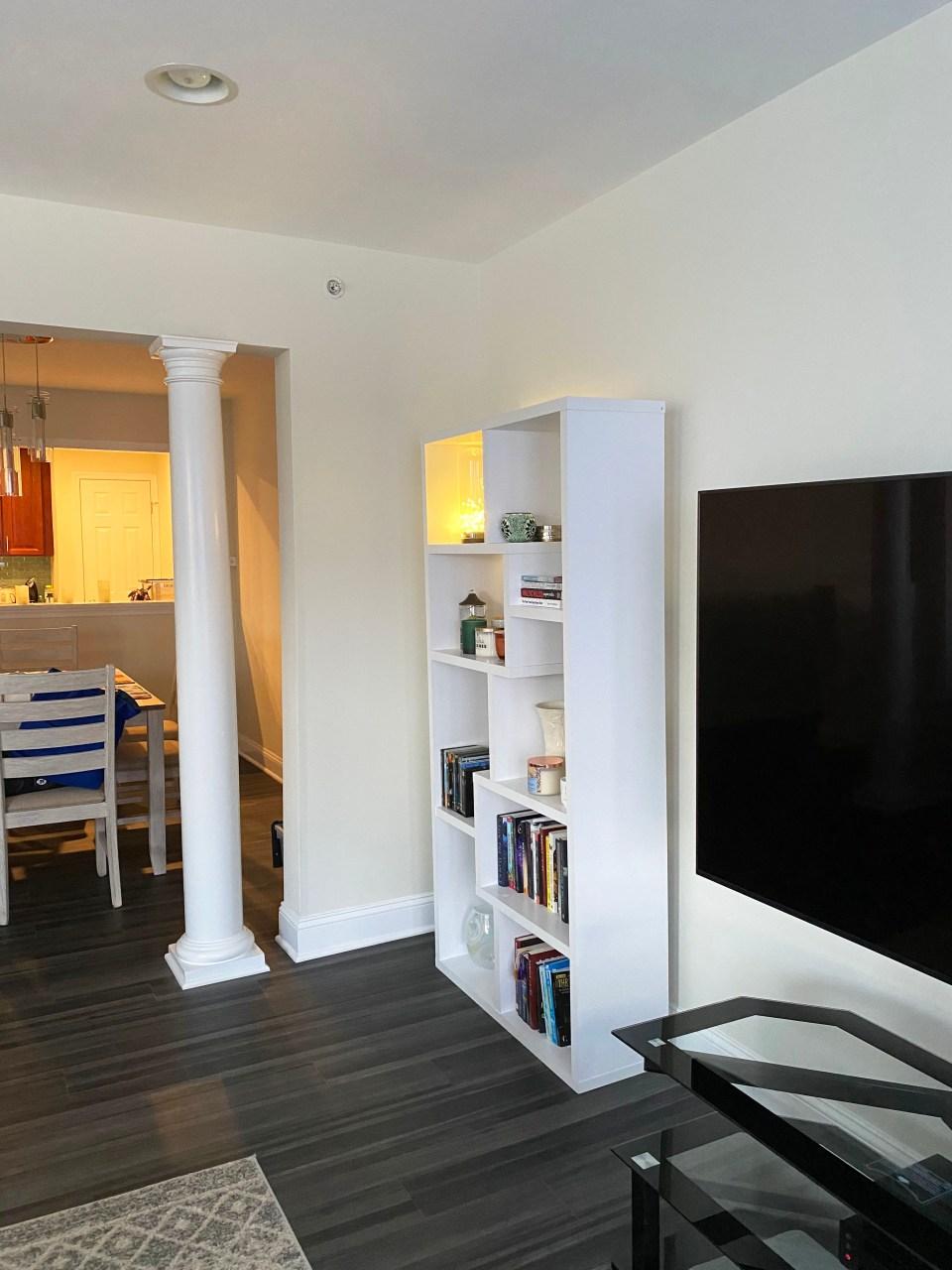 White Bookcase 9