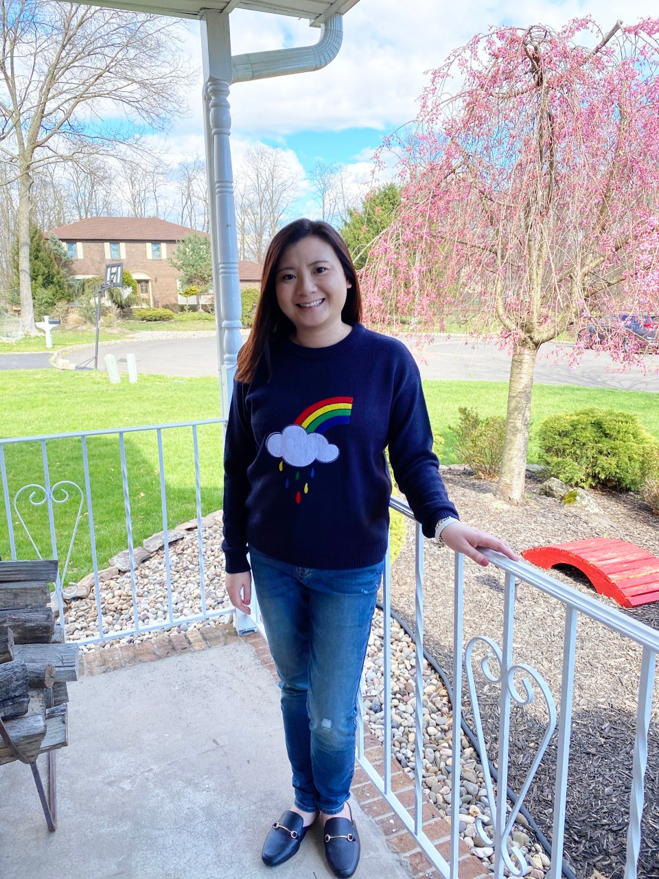 Rainbow & Cloud Sweater 7