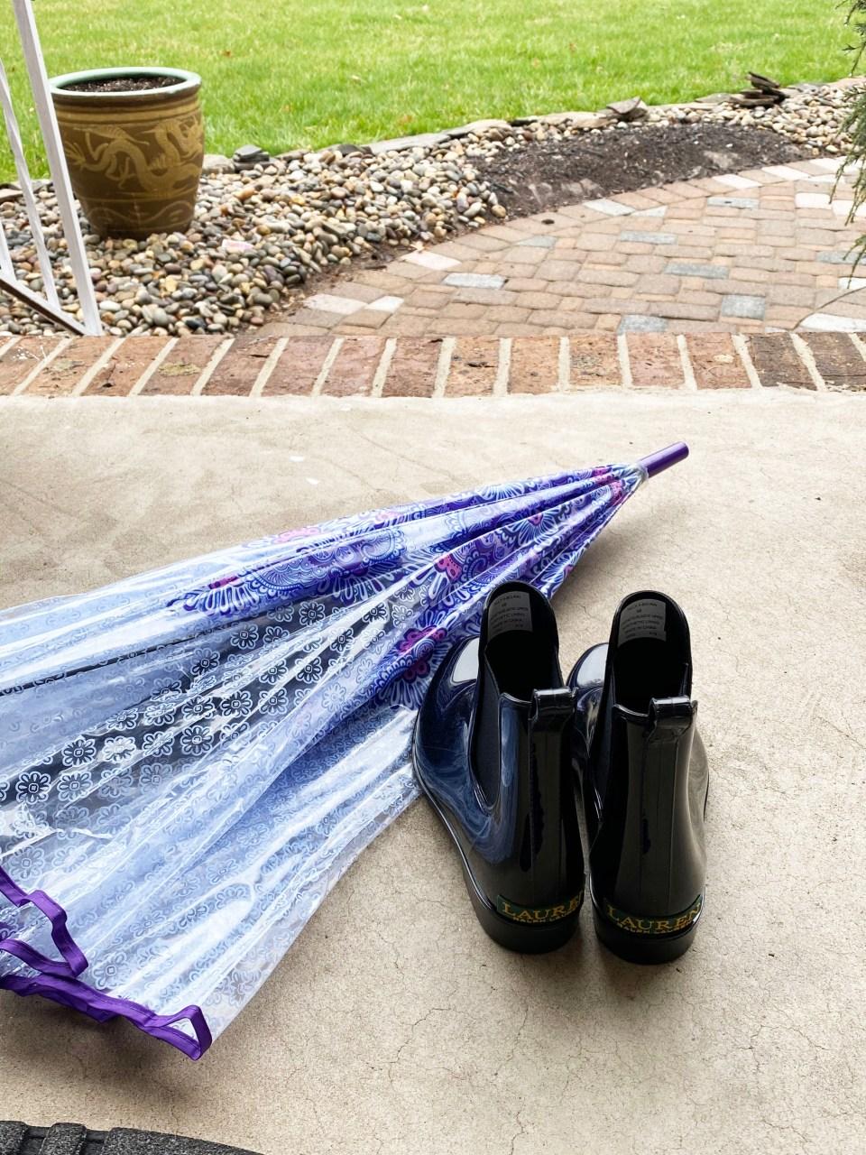 Short Rain Boots 6