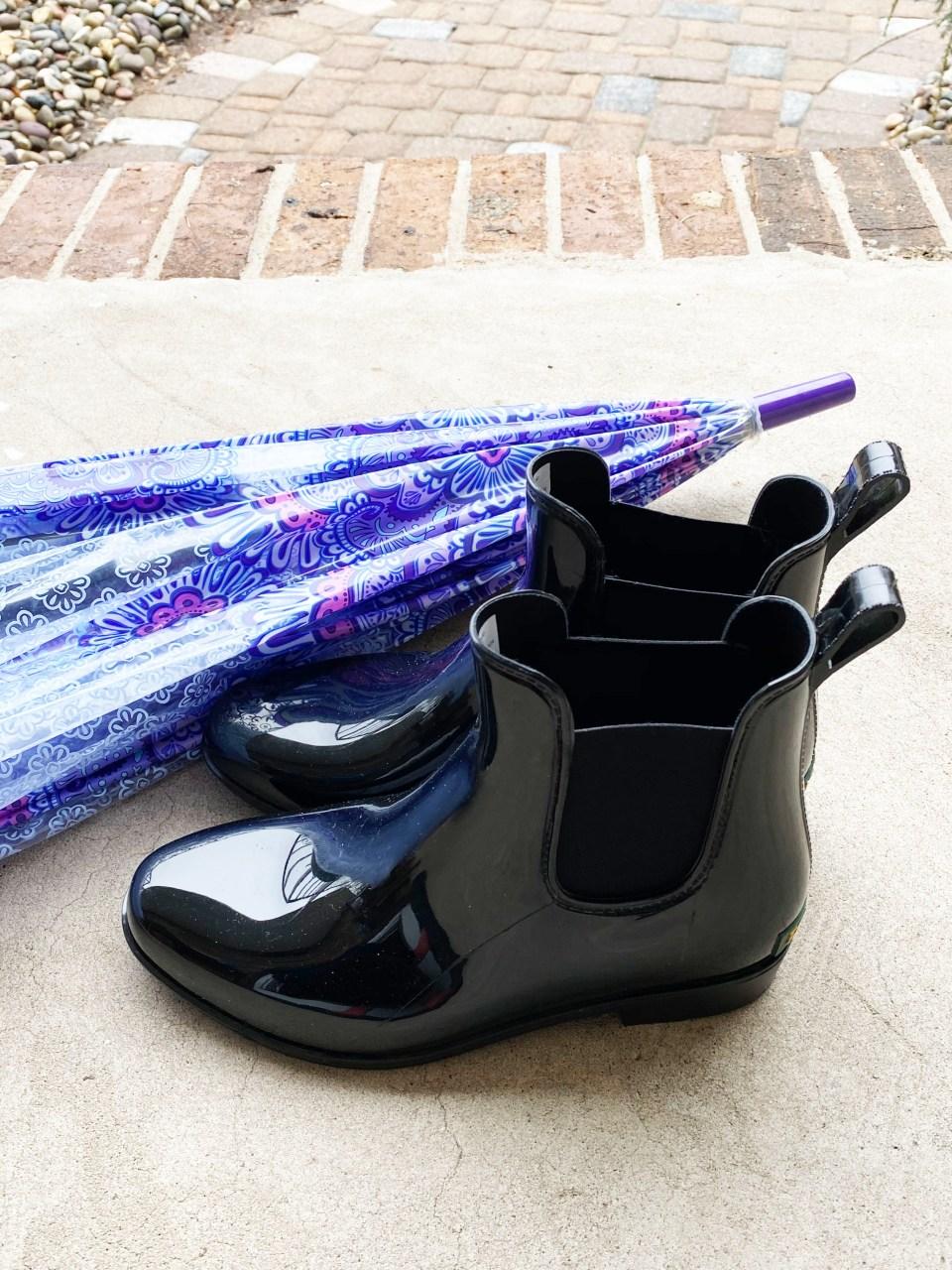 Short Rain Boots 7