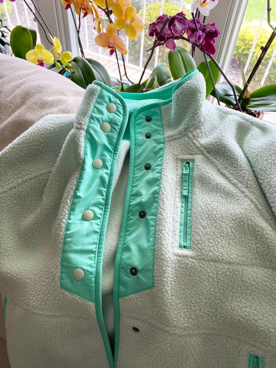 Snap Button Fleece Jacket