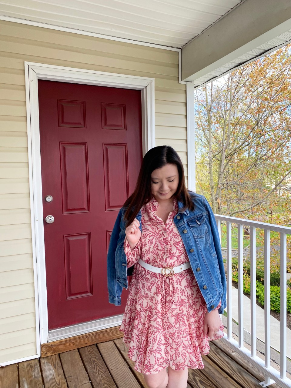 Grapevine Dress + Denim Jacket 8
