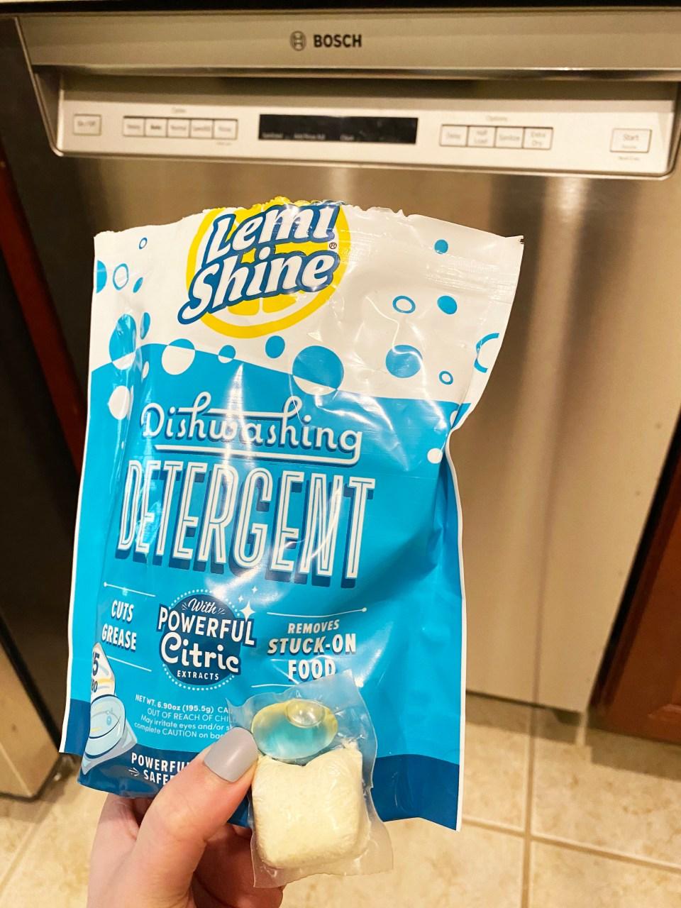 Lemi Shine Dishwashing Detergent 1