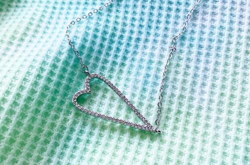 Heart Pavé Necklace