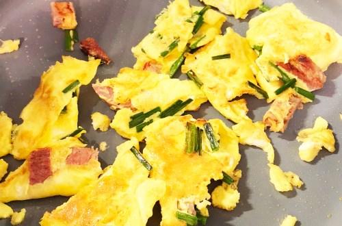 Ham & Chive Omelet