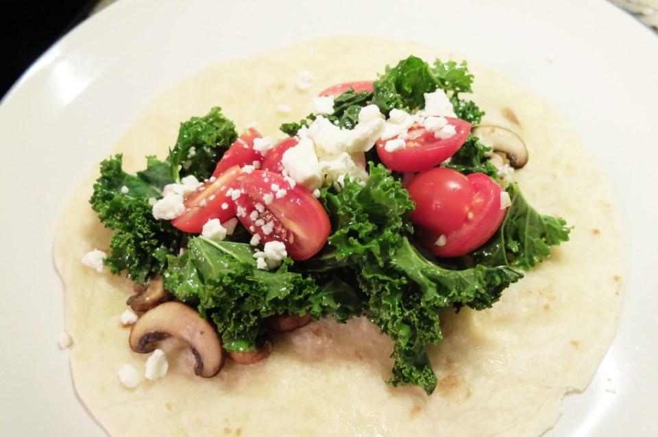 Spicy Portobello & Kale Tacos 8