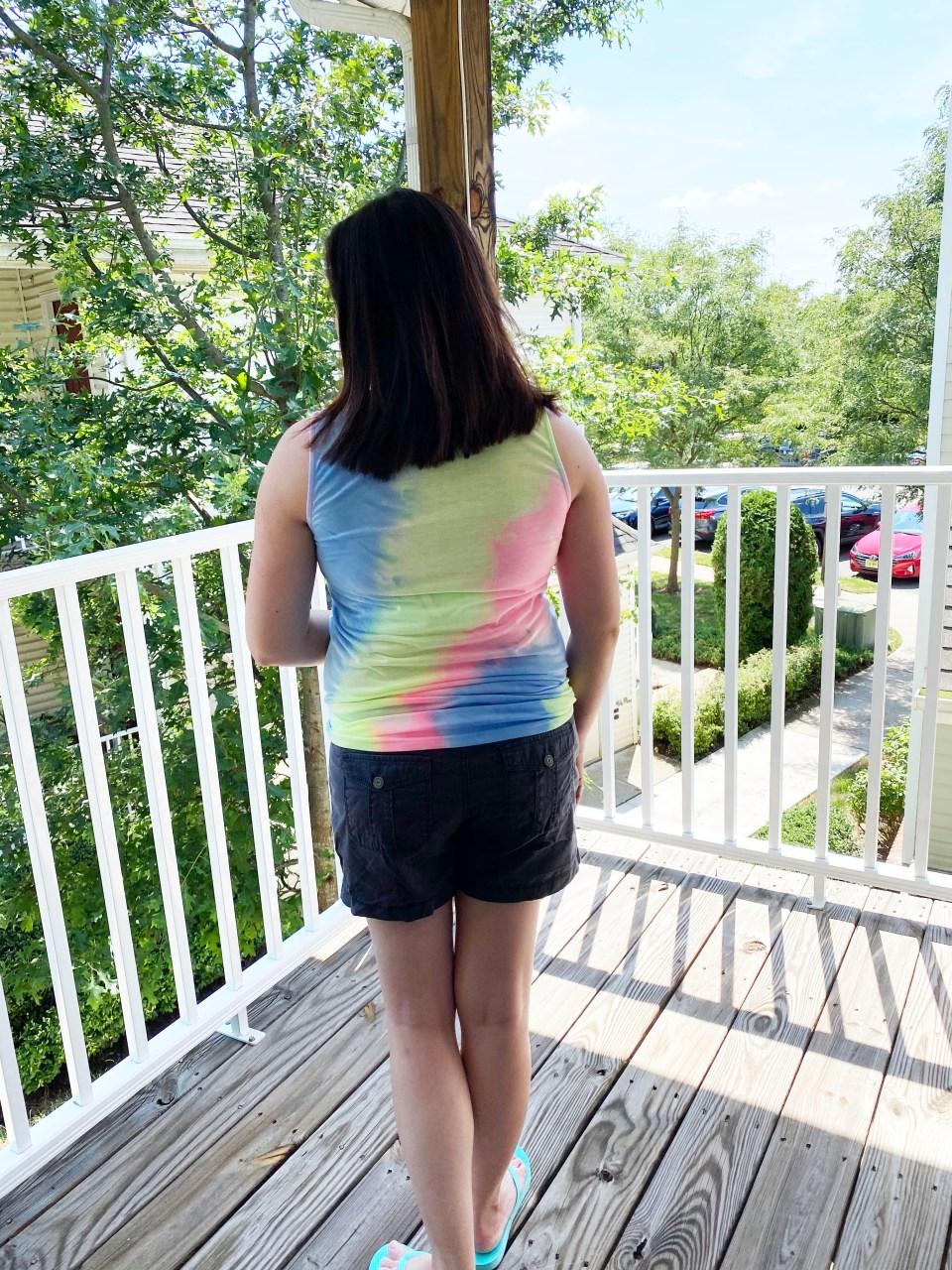 Tie Dye Dress to Top 4