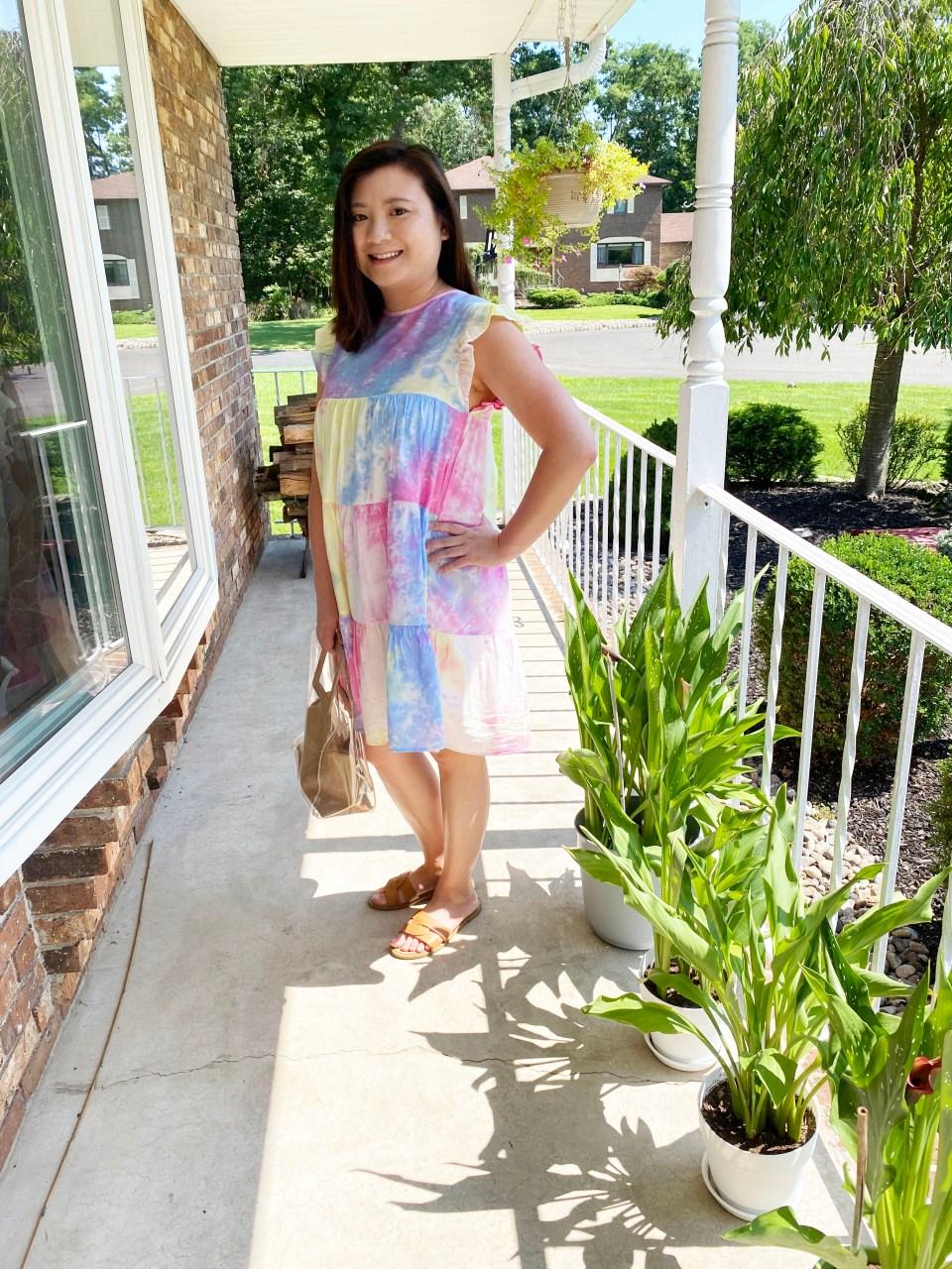 Tie Dye Babydoll Dress 2