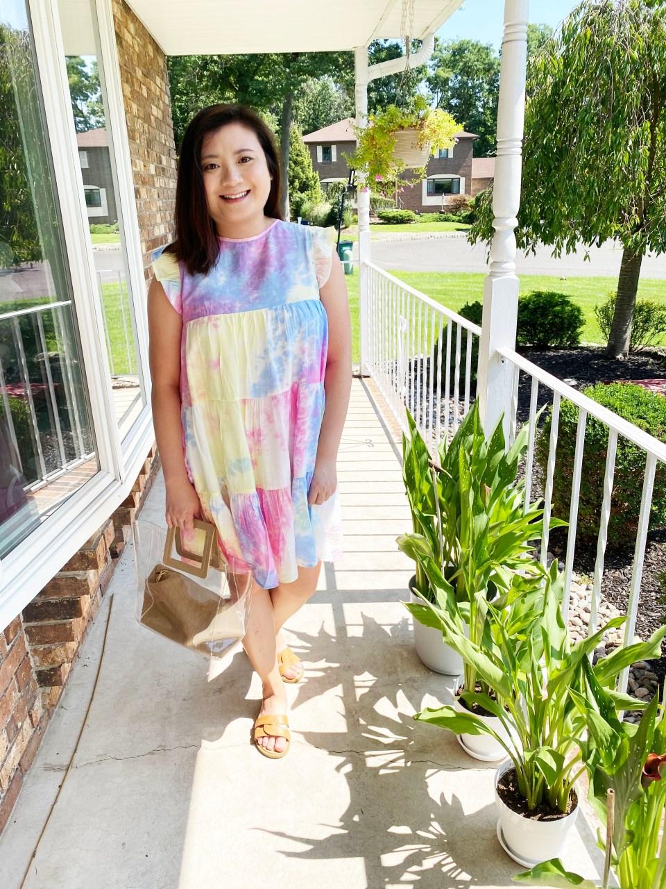 Tie Dye Babydoll Dress 3