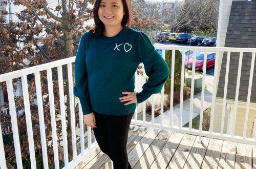 Teal-XO-Sweater