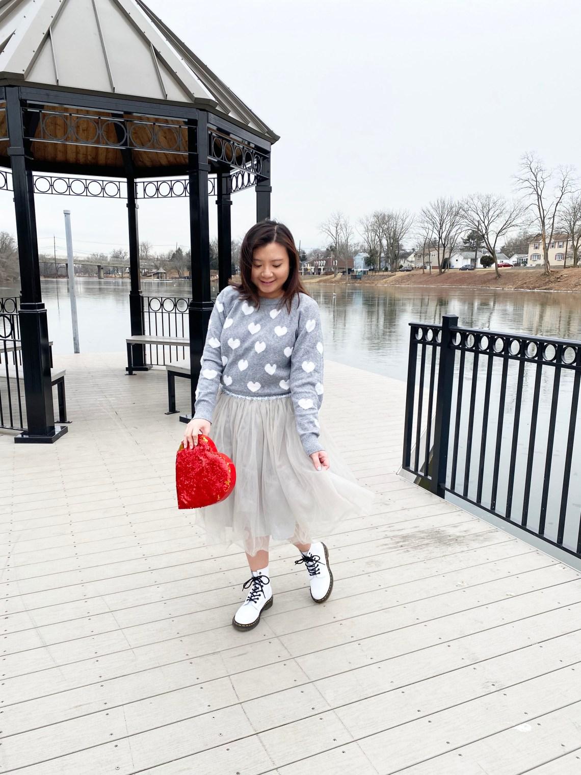 Heart-Sweater-Tulle-Skirt