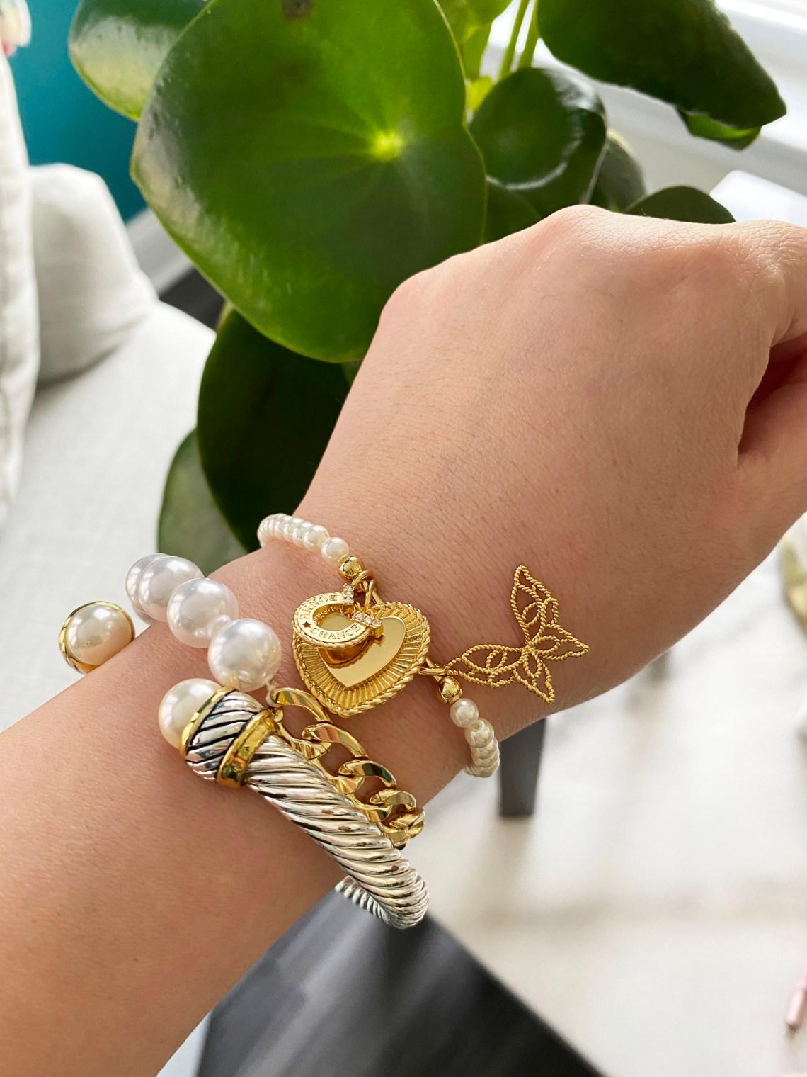 Pearl-Bracelet-Stack