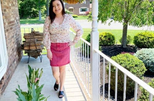 Floral-Smock-Top-Pink-Denim-Skirt