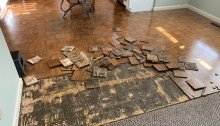 How To Remove Parquet Floor Adhesive Archives Life After 40