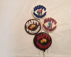 Happy Birthday w balloons - BD130HM