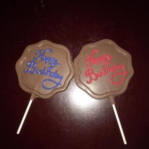 Happy Birthday written - BD110HM