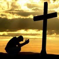 kneel foot cross