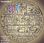 """Facsimile 2 Figures 19, 20, 21 """"you shall be as that god"""""""