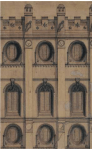Salt Lake Temple Original drawing by Truman O. Angell