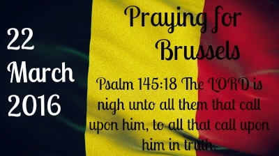 Praying for Brussels