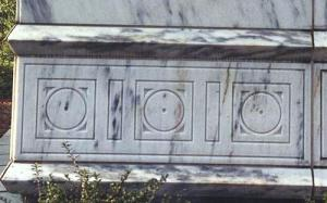 Point in a Circle on LDS Temples