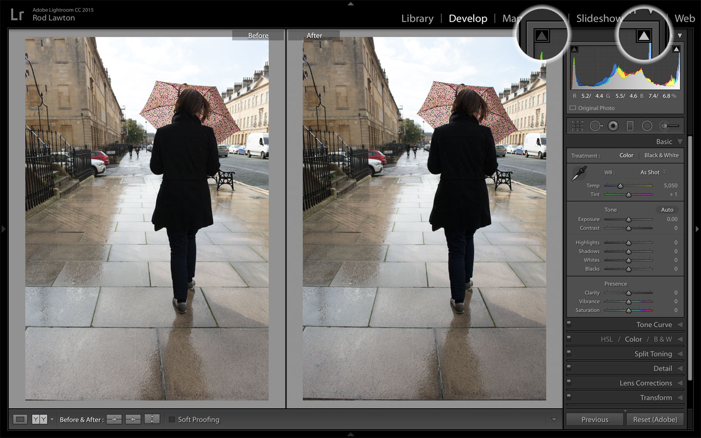 Shadow and Highlight recovery in Lightroom | Life after Photoshop