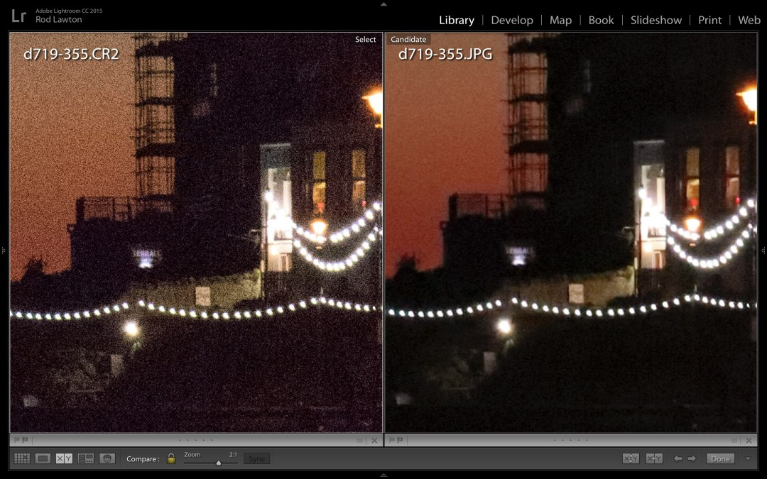 Lightroom noise reduction