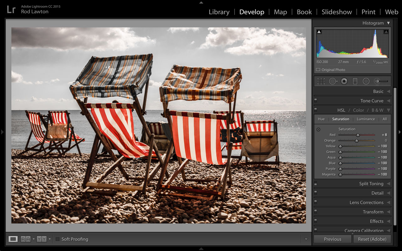 How to create a selective colour effect   Life after Photoshop