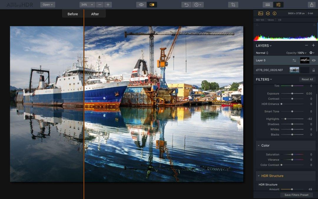 MacPhun Aurora HDR 2018 review