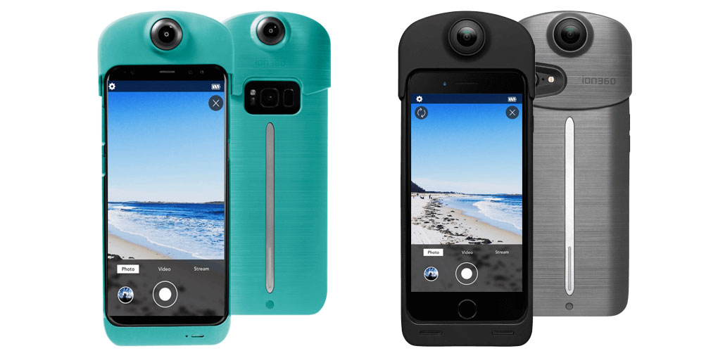 New iON360 U adds a 360 camera to your smartphone