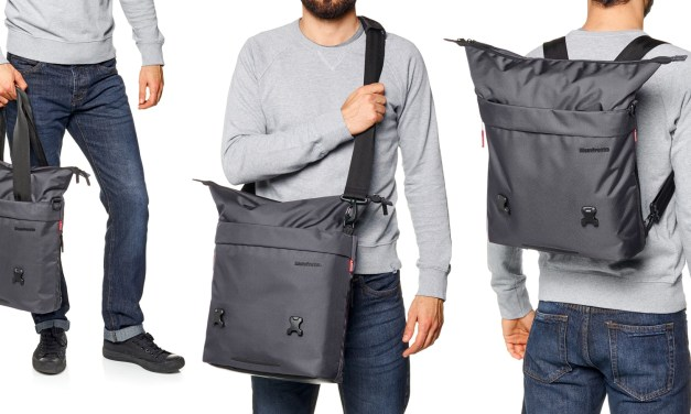 Manfrotto Manhattan Changer-20 3-way camera bag review