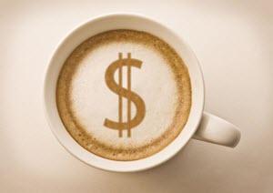 saving money making coffee