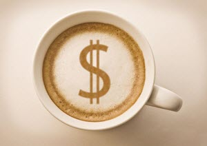 saving money making coffee